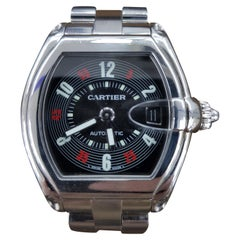 Cartier Roadster Vegas Style, Stainless Steel, Registered, 2006