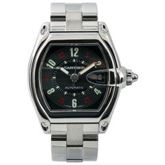 Cartier Roadster W62002V3, Black Dial, Certified and Warranty