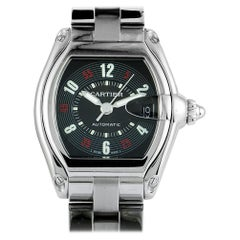Cartier Roadster W62002V3, White Dial, Certified and Warranty