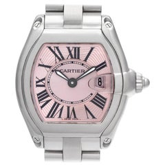 Cartier Roadster W62017V3, Millimeters Brown Dial, Certified and Warranty