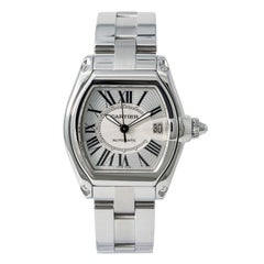 Cartier Roadster W62025V3, Case, Certified and Warranty