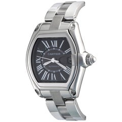Cartier Roadster W62041V3 Men's Stainless Steel Watch, Ready to Ship