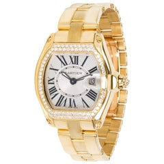 Cartier Roadster WE5001X1 Women's Watch in 18 Karat Yellow Gold