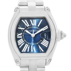 Cartier Roadster XL 100th Anniversary Blue Dial Men's Watch W6206012