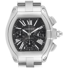 Cartier Roadster XL Chrono Black Dial Automatic Men's Watch W62020X6