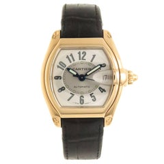 Cartier Yellow Gold Roadster Large Automatic Wristwatch