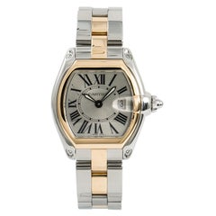 Cartier Roadster5160, Brown Dial Certified Authentic