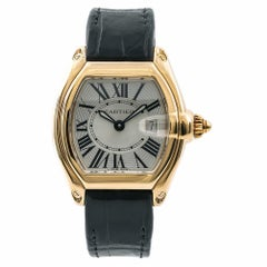 Cartier Roadster6600, Silver Dial Certified Authentic