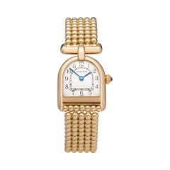 Cartier Romane 18 Karat Yellow Gold Wristwatch