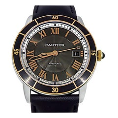 Cartier Ronde Crosiere De Cartier Wristwatch