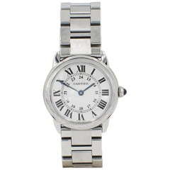 Cartier Ronde Solo 2933 W6701004 Stainless Steel with Papers