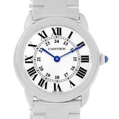 Cartier Ronde Solo Stainless Steel Quartz Ladies Watch W6701004