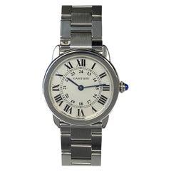 Cartier Ronde Solo Steel Mid Size Quartz Wrist Watch
