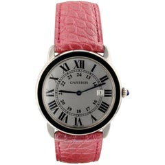 Cartier Ronde Solo W6700255, Silver Dial, Certified and Warranty