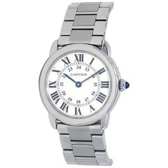 Cartier Ronde Solo W6701004, Silver Dial, Certified and Warranty