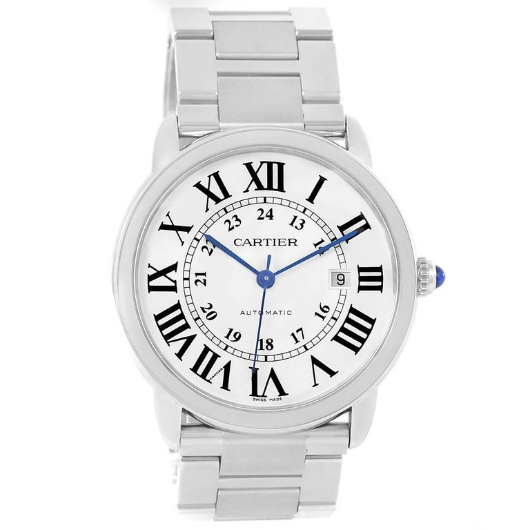 Cartier Ronde Solo Extra Large Automatic Steel Men's Watch W6701011 4