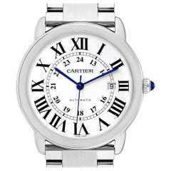 Cartier Ronde Solo XL Automatic Steel Men's Watch W6701011