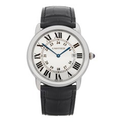 Cartier Ronde Stainless Steel 2934