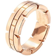 Cartier Rose Gold 18 Karat Ring