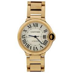 Cartier Rose Gold Ballon Bleu Luxury Watch