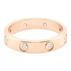 Cartier Rose Gold Diamond Love Ring
