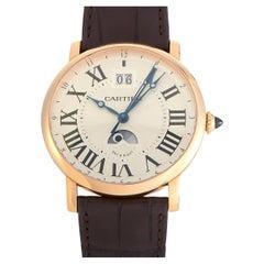 Cartier Rotonde de Cartier Large Date Second Time-Zone Watch W1556220