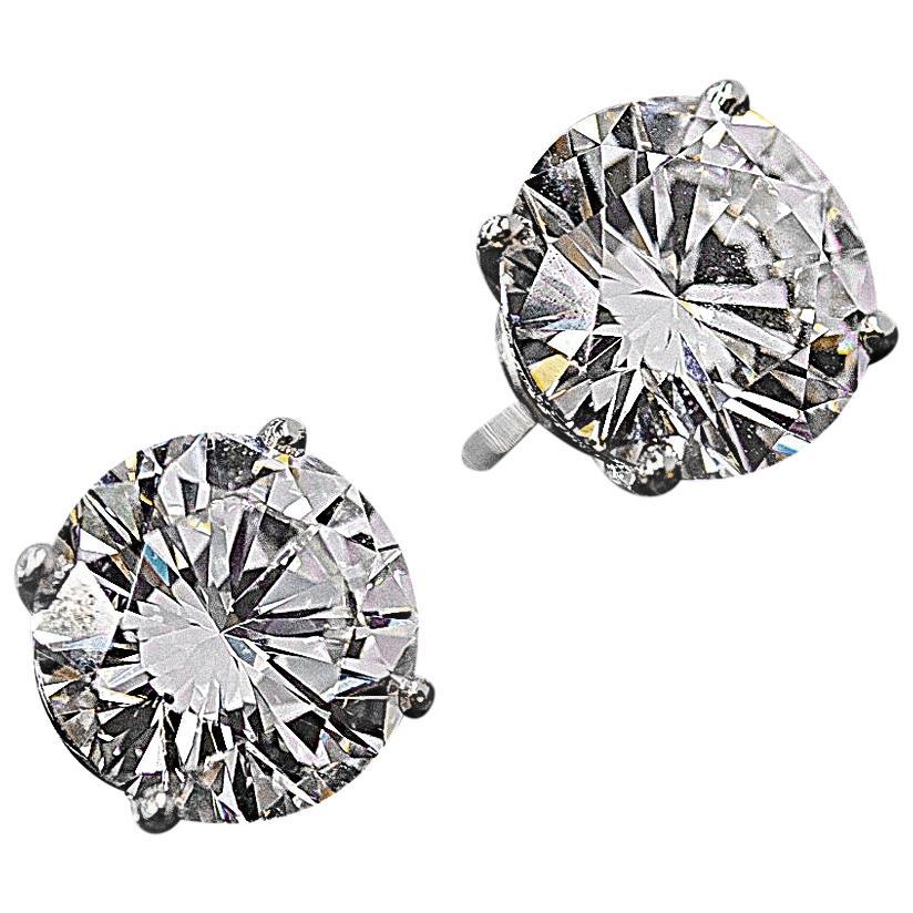 cartier solitaire earrings