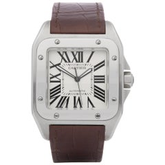 Cartier Santo 100 Stainless Steel 2656