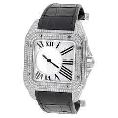 Cartier Santos 100 Mystery Diamond Watch