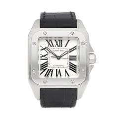 Cartier Santos 100 Stainless Steel 2878