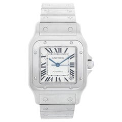 Cartier Santos 100 Steel Automatic Men's Watch W20098D6