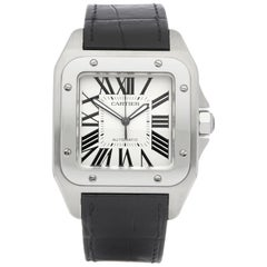 Cartier Santos 100 XL Stainless Steel 2650