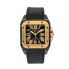 Cartier Santos 1002878, Certified and Warranty