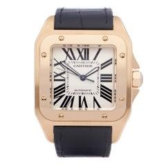 Cartier Santos 100XL 2657 or W20071Y1 Men Yellow Gold 18K Watch