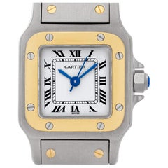 Cartier Santos 1170902, White Dial, Certified and Warranty