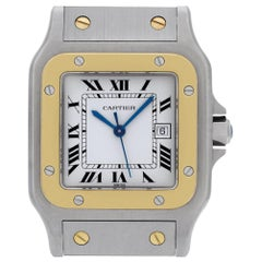 Cartier Santos ac 23.80, Case, Certified and Warranty