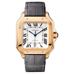 Cartier Santos Automatic Large Model Rose Gold Watch WGSA0019