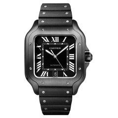 Cartier Santos Automatic Large Model Steel Watch WSSA0039