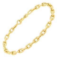 Cartier 'Santos de Cartier' 18 Carat Gold Chain Bracelet