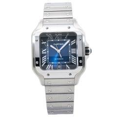 Cartier Santos De Cartier 4072 WSSA0018 Large Mens Automatic Watch