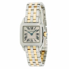Cartier Santos Demoiselle 2698 W25066Z6 Women's Quartz Watch Two-Tone
