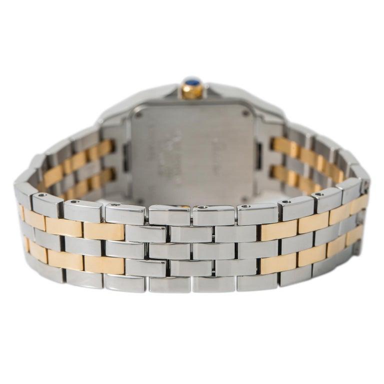 Cartier Santos Demoiselle 2701 W25065Z5 Womens Two Tone Quartz Watch 26mm
