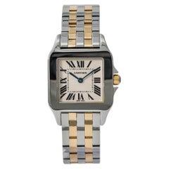 Cartier Santos Demoiselle 2701 W25065Z5 Womens Two-Tone Quartz Watch
