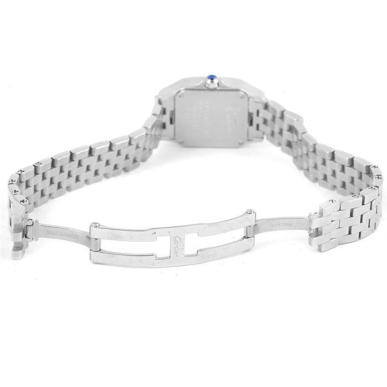 Cartier Santos Demoiselle Purple Dial Small Ladies Watch W2510002 For Sale 1