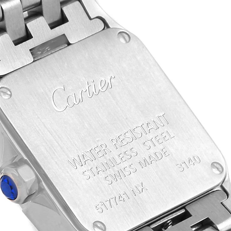 Cartier Santos Demoiselle Purple Dial Small Ladies Watch W2510002 For Sale 3