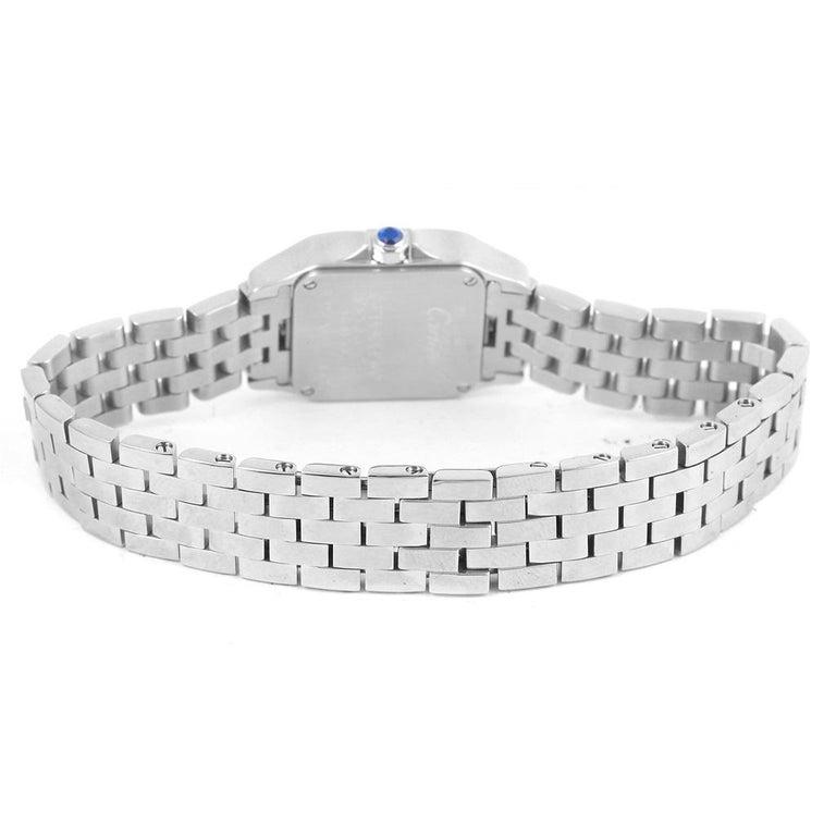 Cartier Santos Demoiselle Purple Dial Small Ladies Watch W2510002 For Sale 5