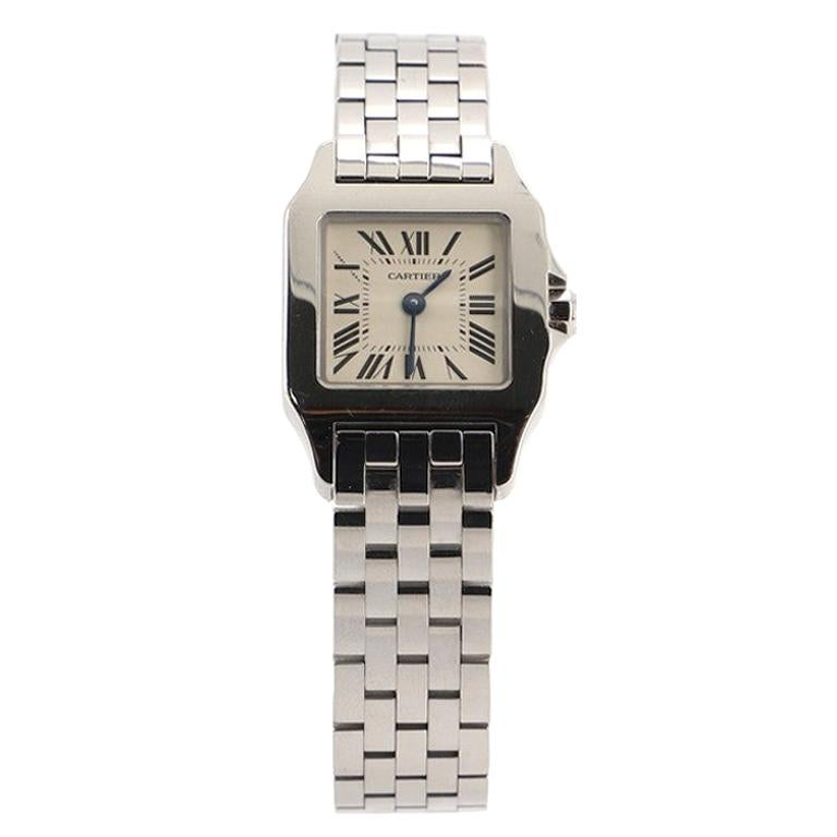Cartier Santos Demoiselle Quartz Watch Stainless Steel 20