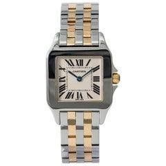 Cartier Santos Demoiselle W25065Z5, Beige Dial, Certified and