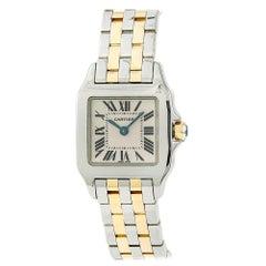 Cartier Santos Demoiselle W25066Z6, Certified and Warranty