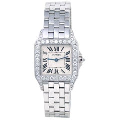 Cartier Santos Demoiselle WF9004Y8, Certified and Warranty